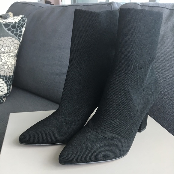 Fabric Stretch Ankle Boots   Poshmark